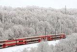 Atnaujinti traukinių tvarkaraščiai