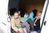 Prie sienos su Lenkija sulaikyti migrantai iš Afganistano ir Vietnamo