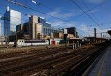 Briuselyje paralyžiuotas traukinių eismas: benamis sukėlė gaisrą