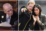 Markle turėtų būti sugniuždyta: paaiškėjo, ką apie ją galvoja princas Philipas