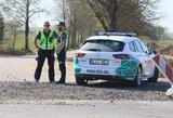 Girtas paspirtuko vairuotojas sukėlė avariją