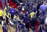 Siaubas krepšinio aikštėje: jaunam žaidėjui sustojo širdis