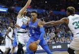 NBA čempionate lieka dvi komandos nepatyrusios pergalės skonio
