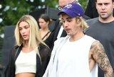 Gražuolė Bieberio žmona – neatpažįstama: drastiškai pakeitė šukuoseną