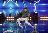 """Talentingas šokėjas """"Lietuvos talentuose"""" užbūrė visus: parodė, ką sugeba retas"""