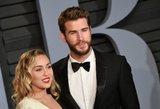 Dar vienos slaptos vestuvės: amžiną meilę prisiekė skandalingoji Miley Cyrus