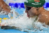 Rūta Meilutytė pagerino rekordą