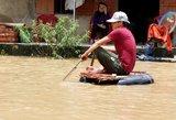 Vietname per potvynį žuvo dešimtys žmonių