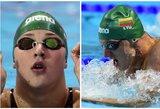 Rūta Meilutytė, Giedrius Titenis ir Mindaugas Sadauskas Švedijoje pateko į finalus
