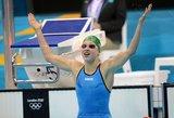 Olimpinė čempionė Rūta Meilutytė grįžo ten, kur išsipildė svajonė