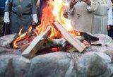 Ugniagesiai perspėja gyventojus atsargiai kūrenti Joninių laužus