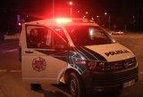 Vilniaus rajone – patėvio drama: taranavo jaunuolių automobilį ir grasino nužudyti