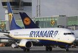 """Po pražilti verčiančio skrydžio """"Ryanair"""" – pareigūnų informacija"""