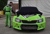 Pristatytas lietuvių automobilis – sieks triumfo pasaulio ralikroso čempionate