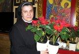 Hospiso įkūrėja sesuo Michaela Rak: didžiausia Kalėdų dovana žmogui – kitas žmogus