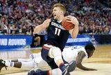 """""""Sports Illustrated"""" pripažinimas: Domantas Sabonis – geriausias NCAA """"Kovo beprotybės"""" aukštaūgis"""