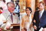 Šaltiniai atskleidė, ką princas Charlesas mano apie Harry ir Meghan skandalus