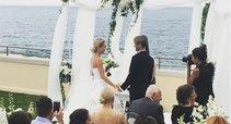 Editos Daniūtės ir Mirko Gozzoli vedybos (nuotr. Instagram)