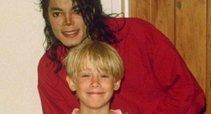 Michael Jackson ir Macaulay Culkin (nuotr. Vida Press)
