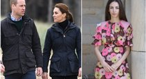 Princas Williamas ir Kate Middleton, Rose Hanbury  (tv3.lt fotomontažas)