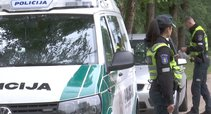 Policija Jurbarke  (asociatyvi nuotr. stopkadras)