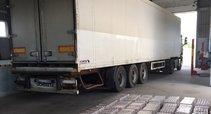 Dešros iš Kaliningrado slėpė beveik 100 tūkst. eurų vertės kontrabandą (nuotr. VSAT)