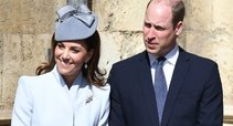 Kate Middleton ir princas William (nuotr. SCANPIX)