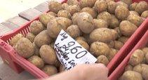 Bulvių kainos (nuotr. stop kadras)