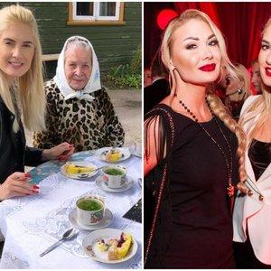 Ivanova parodė močiutę: atskleidė dar niekada negirdėtų faktų apie savo šeimą