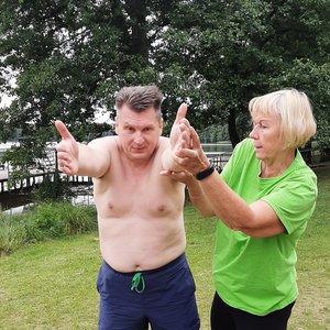 """Daugkartinė plaukimo čempionė Birutė Statkevičienė: """"Mokytis plaukti niekada ne vėlu"""""""