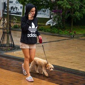 Lietus neišgąsdino Palangos poilsiautojų
