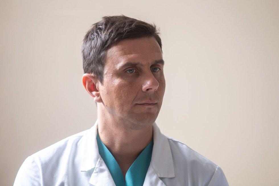 Gydytojas urologas Ramūnas Tyla (nuotr. fotodiena/Justino Auškelio)