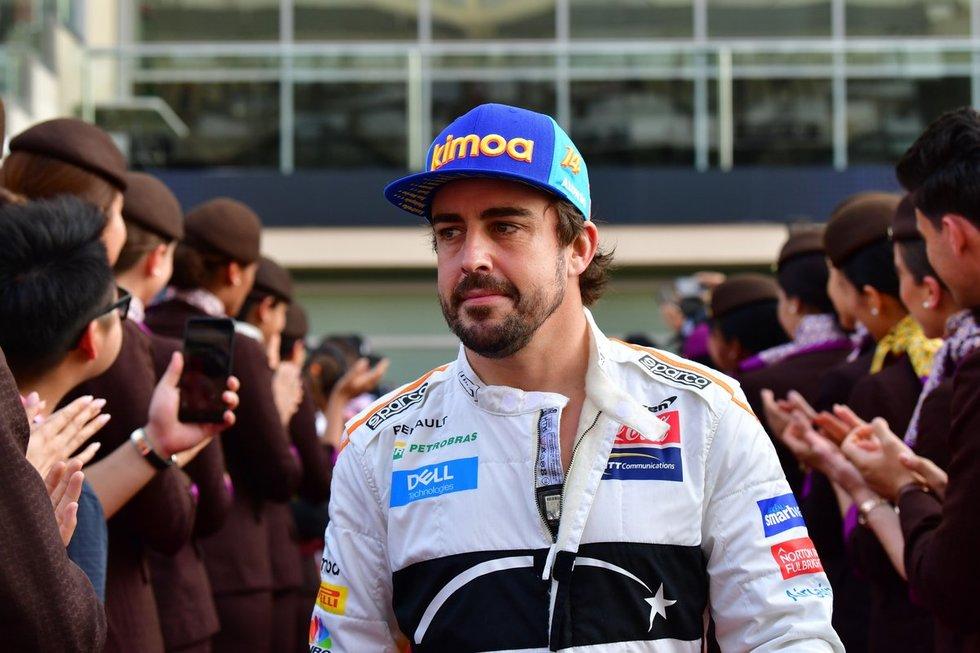 Fernando Alonso (nuotr. SCANPIX)