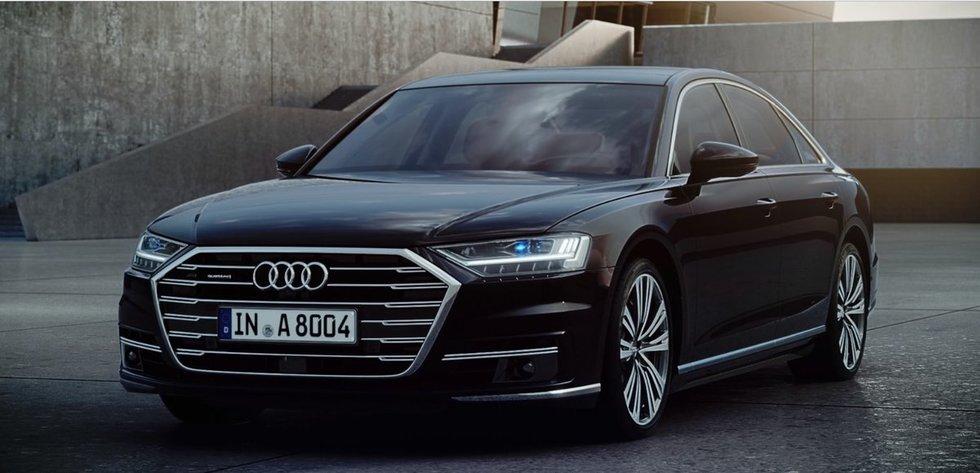Audi A8 (gamintojo nuotr.)