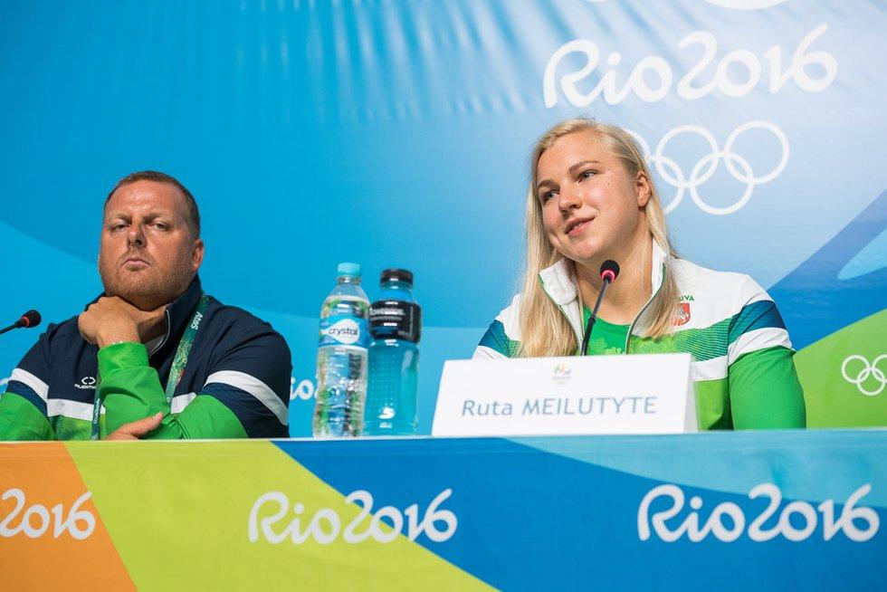 Rūta Meilutytė: nors rezultatas nėra džiuginantis, bet esu laiminga (nuotr. Alfredo Pliadžio)