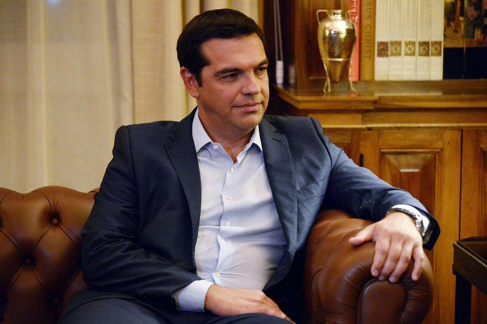 Alexis Tsipras (nuotr. SCANPIX)