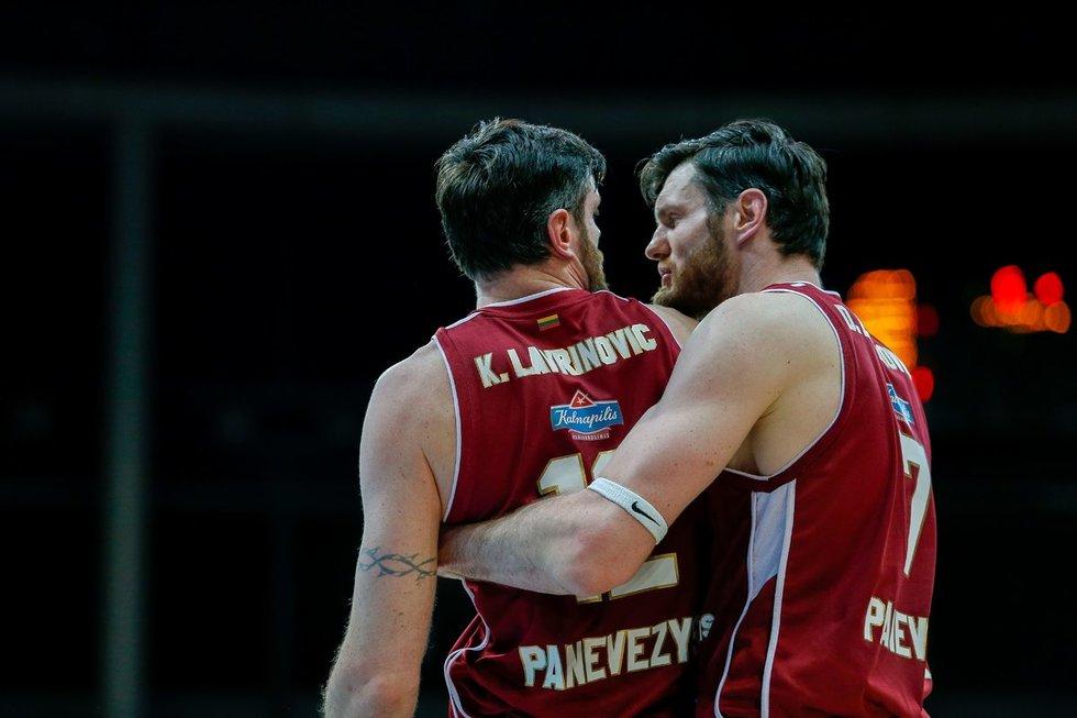 Kšištofas ir Darjušas Lavrinovičiai (nuotr. Fotodiena.lt/Josvydo Elinsko)