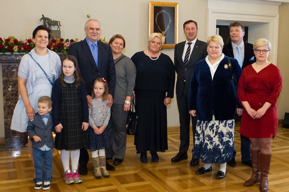 Pirmasis nepriklausomos Lietuvos prezidentas pagerbtas