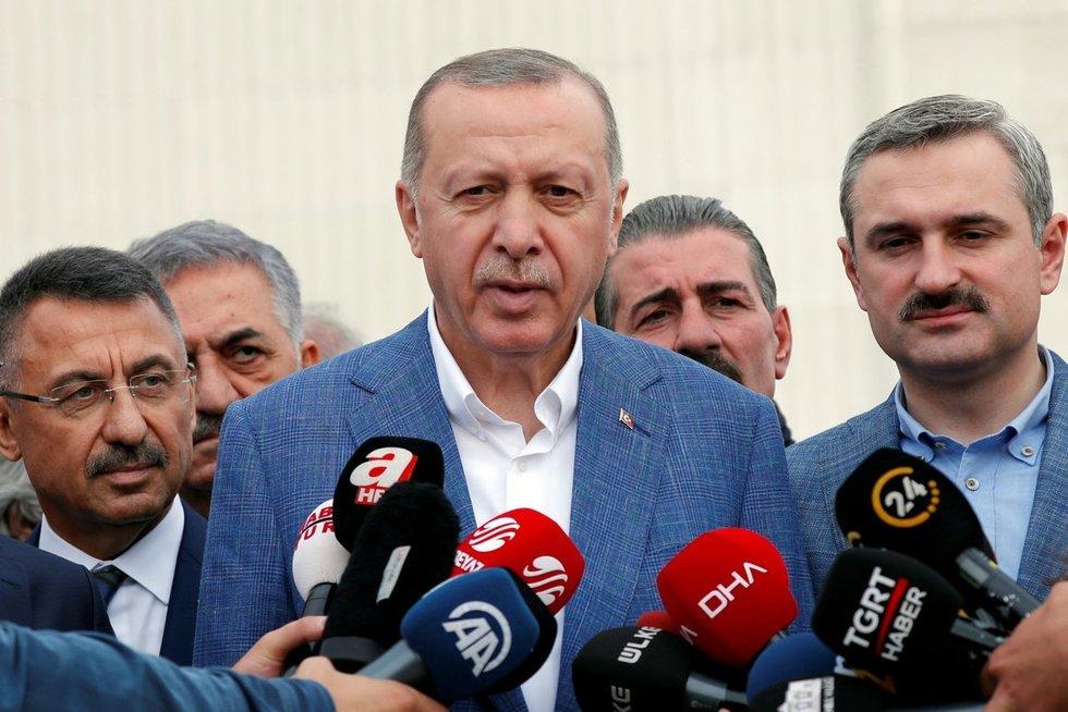Turkijos prezidentas Recepas Tayyipas Erdoganas. (nuotr. SCANPIX)