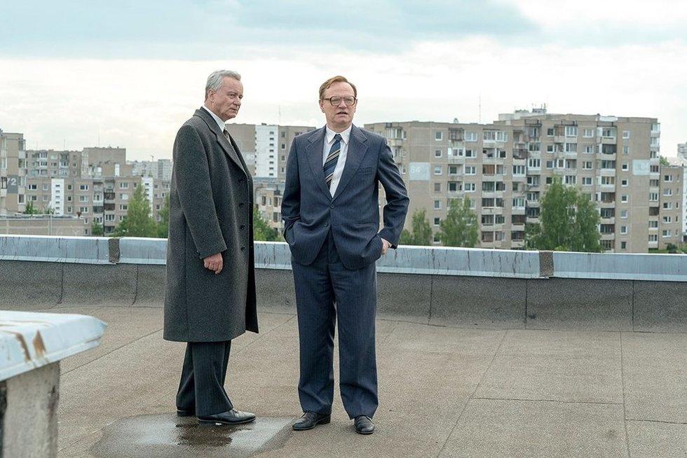 """Černobylio filmaviamas (Nuotraukos: """"Sister Pictures ir Sky Television"""")"""