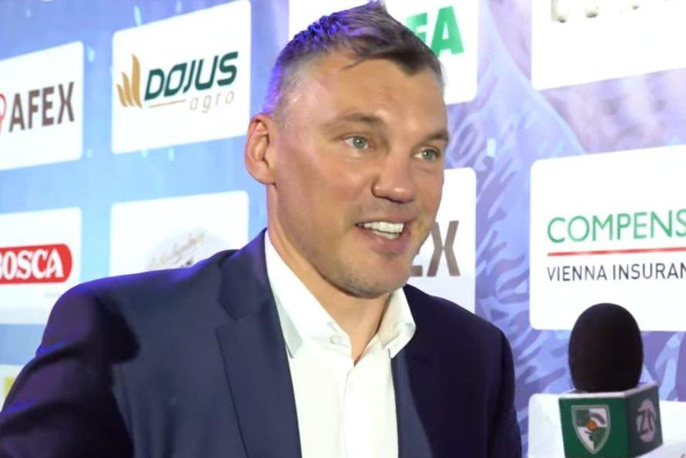 Š. Jasikevičius (nuotr. stop kadras)