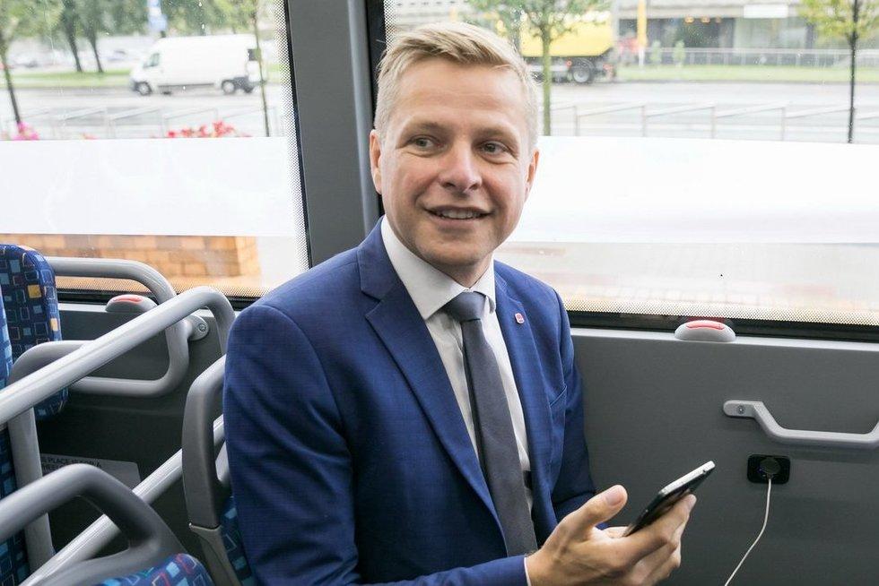 Prasideda didžiausias Vilniaus istorijoje viešojo transporto atnaujinimas (nuotr. Sauliaus Žiūros)