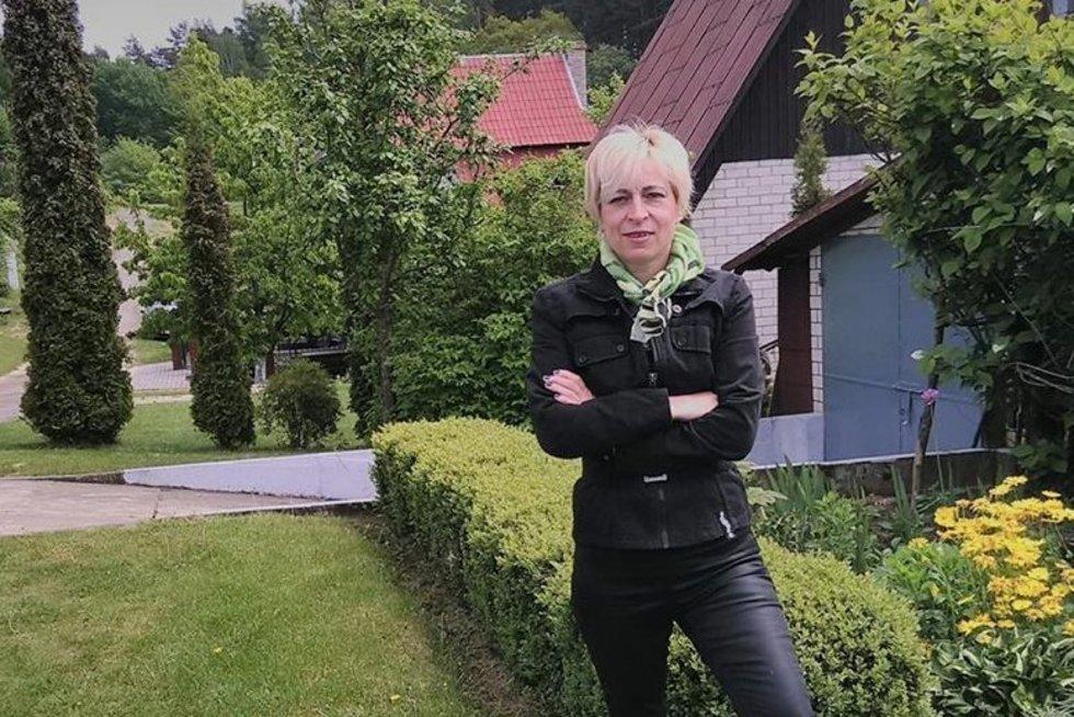 Elektrėnų krašto neįgaliųjų sąjungos vadovė Audra Česonienė. Asmeninio archyvo nuotr.
