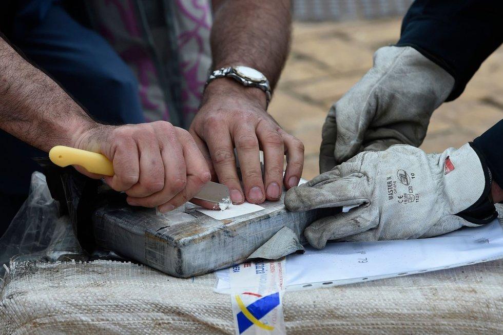 Europą užtvindė kokainas: skaičiai kelia nerimą (nuotr. SCANPIX)