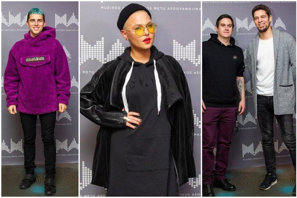 M.A.M.A. 2018 nominantai (tv3.lt fotomontažas)