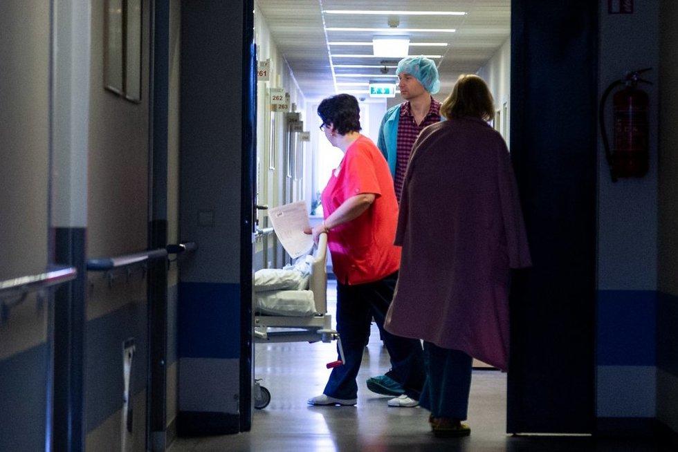 ligoninė, asociatyvi (nuotr. fotodiena/Justino Auškelio)