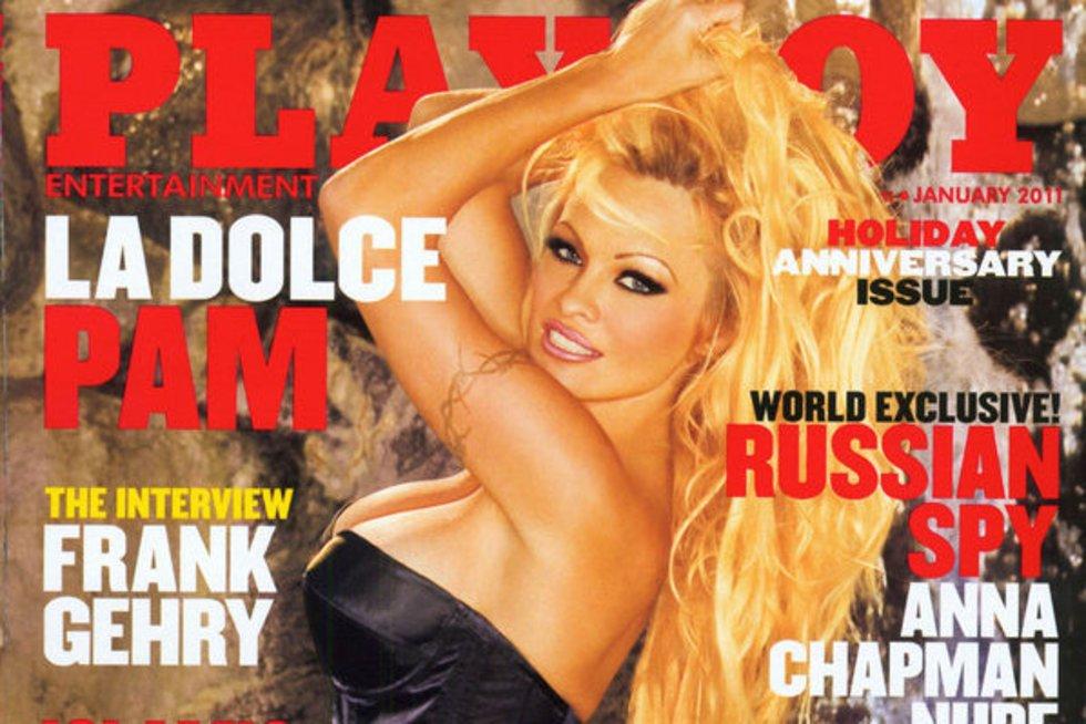 Pamela Anderson (nuotr. Alloverpress.ee)