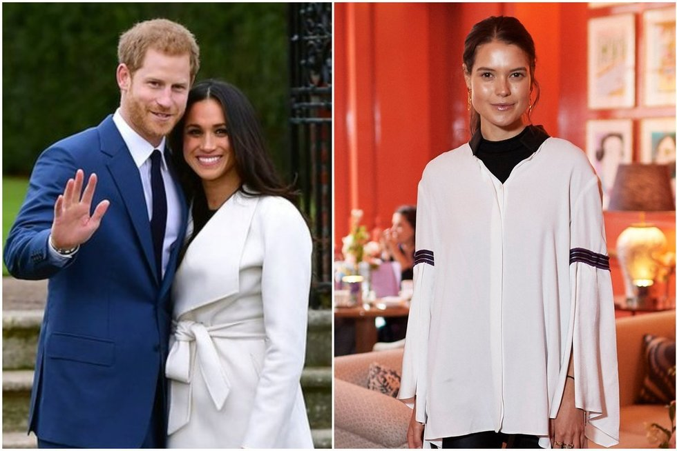 Princas Harry ir Meghan Markle, Sarah Ann Macklin (tv3.lt fotomontažas)