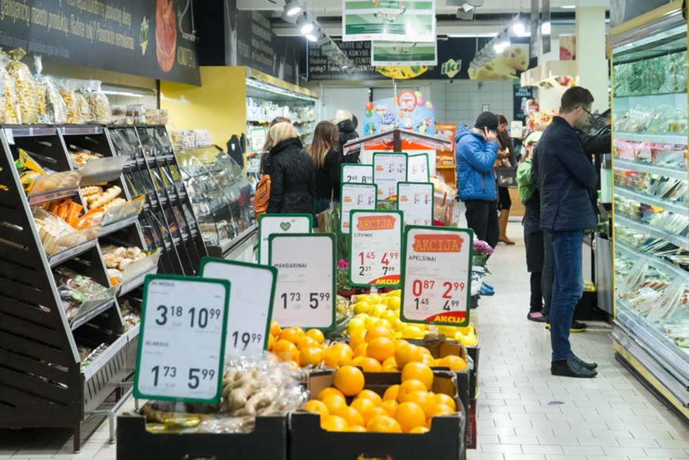 Parduotuvė (nuotr. Balsas.lt/Ruslano Kondratjevo)