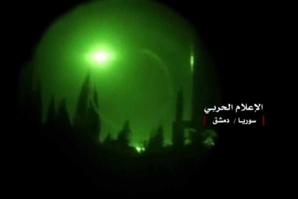 Raketos virš Sirijos (nuotr. SCANPIX)
